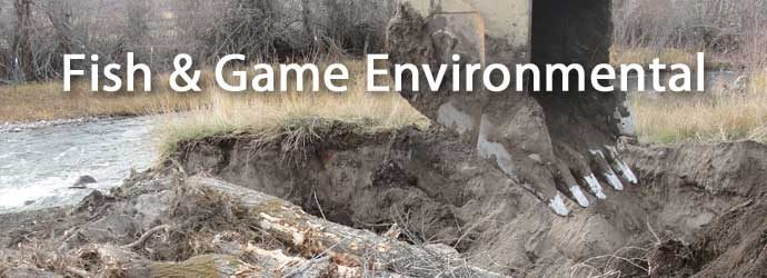 Fish & Game Environmental Project
